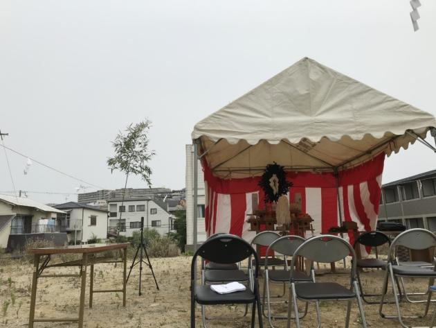 吹田 地鎮祭